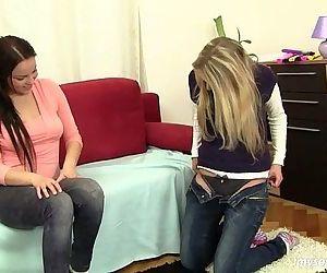 Chesty lesbian teens..